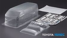 1/10 RC Car PC Clear Body Shell 190mm Toyota HIACE Van Drift Touring On Road