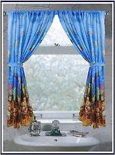 Carnation Home Fashions Fwc-sea Seascape Fabric Window Curtain