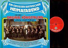 LP--EIN GROSSER BAYRISCHER HEIMATABEND MIT DEN ORIG KÖNIGSTALERN --JOSEF POLLING
