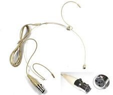 Headset Microphone Skin Color for Shure Wireless ta4f U1, UC1, UT1, T1, ULX1, UR