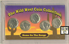 USA The Wild West 5 Coin Collection Set (OOAK)