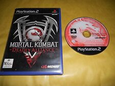 PS2 GAME: MORTAL KOMBAT-DEADLY ALLIANCE-SONY PLAYSTATION-Gioco-Games-Pal-ITA