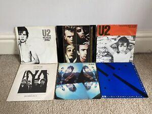 "U2 6 X UK 7"" Singles New Years Day / Pride / Gloria / Unforgettable Fire"