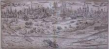 1588 CIVITAS NEMETUM Cosmographia universalis Sebastian Münster Speyer Germany