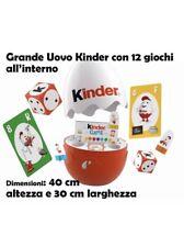 🔴 KINDER GAME maxi uovo Kinder da 40 cm + giochi NUOVO IN SCATOLA Egg 2020