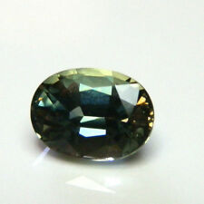Very Good Cut Oval Green Loose Sapphires