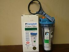 "1PS-B1 Campbell Drinking Water Filter Housing 5 Micron Sediment 1"" FPT"