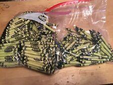 (384) Crayola Crayons (Asparagus,Pine Green) Bulk