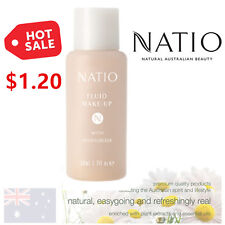 Natio Fluid Make Up Perfect Liquid Foundation Base TAN, Made in Australia
