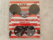 USA Link Micro Dome Tweeter Car Speaker 300W