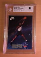 1993 Nike Warner Aerospace Michael Jordan #7 BGS 8  Space Jam