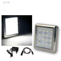 de 1 pièce ensemble LED Support spot chromé 16 leds blanc froid,