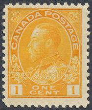 "King George V ""Admirals"" Issue - 1922 - Scott #105 - F MH"