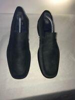 Ted Baker Mens Blue Moccasin Leather Shoes Uk 9 Ref Ba1