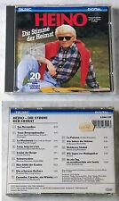 HEINO Die Stimme der Heimat .. Rare 1986 German Japan Teldec CD TOP