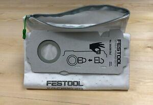 REUSABLE Festool Dust Extractor Bag with ZIP, SC FIS-CT CT15 MINI MIDI 2 204308