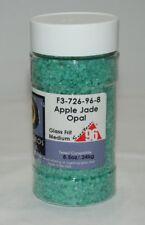 Frit Apple Jade Opal 96 Coe Glass Fusing 8.5oz Jar Medium