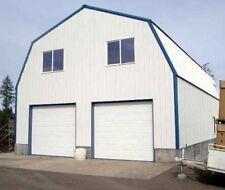 Gambrel Garage Shop Home Steel Building 2nd Floor All Metal