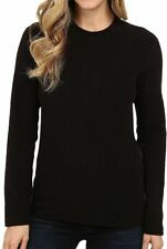 Hot Chilly's Black Pepper Fleece Long Sleeve Top Women's Size Small 10411
