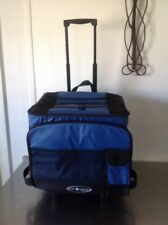Arctic Zone AZ Max Rolling Cooler  1560 cu.in  outside Pockets Blue/black