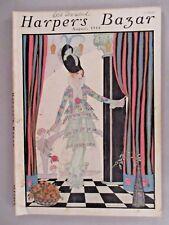 Harper's Bazar - August, 1914 ~~ Brunelleschi cover ~~ Harper's Bazaar