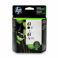 HP 61 Lot de 2 cartouches d'encre d'origine noir/tricolore (CR259FN)