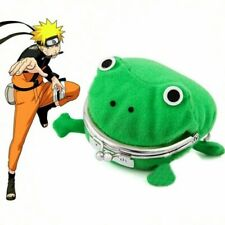 Naruto Kakashi Akatsuki Madara Animal Frog Wallet Cute Coin Purse Cosplay Prop
