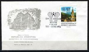 Soccer 1978 C60 used Cover Argentina exhibition WC CV 6 eur