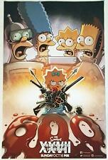 SDCC 2016 The Simpsons Treehouse of Horror Poster 11 X 17 Fox