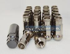 KP48 Grey Extended Long Steel Wheel Lug Nut 12x1.25 fits Subaru WRX Impreza