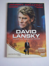 DVD JOHNNY HALLYDAY . DAVIS LANSKY . 3 EPISODES . UN FLIC PAS COMMES LES AUTRES