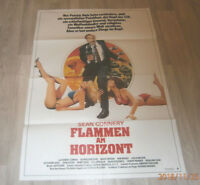A1 Filmplakat   FLAMMEN AM HORIZONT , SEAN CONNERY