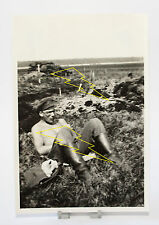 Foto - Soldat - Ohne Uniform - Freier Oberkörper - Militär - Krieg 2. Weltkrieg