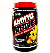 Nutrex Amino Drive - 30 Serving Bcaa Muscle Growth Recovery - Peach Pineapple