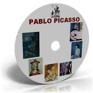 Works of Pablo Picasso 900+ Photo Images Painting, Cubism,Surrealism Art CD