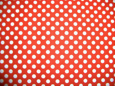 "1/4"" Polka Dots 100% Cotton Quilt Fabric 8 Colors Available"