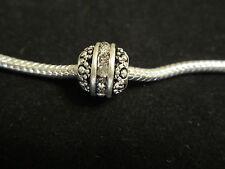 925 Sterling Silver European Bead Charm Birthstone April