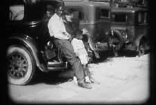 16MM FILM - BLACK HOME MOVIE - 1930s - SILENT