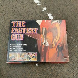 Vintage The Fastest Gun Board Game By Denys Fisher 1973 Complete Good condition