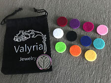 Valyria Stainless Steel Angel Wings Essential Oil Diffuser Necklace for doTERRA
