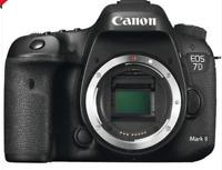 Brand New Canon EOS 7D Mark II Digital SLR Camera Body Only - UK STOCK