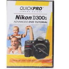 QuickPro Camera Guide Nikon D300s DVD Instruction  Basic Advance Tutorial D300