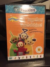 Teletubbies - All Together Teletubbies (DVD, 1998) PBS Kids/Mfg. Sealed