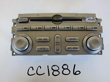 04 05 MITSUBISHI ENDEAVOR AUDIO INFORMATION CONTROL PANEL UNIT CC1886