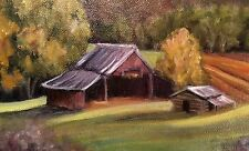 Sarah Weber Signed Original Oil of Wear Valley Tennessee Great Price