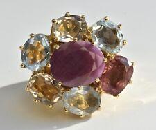 H Stern Diane Von Furstenberg Harmony Gemston Ring 18k