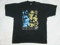 Vintage The Men Of WWF Mens T Shirt Size 2XL The Rock The Undertaker Wrestling