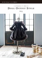 'NEW' DOLL OUTFIT STYLE w/pattern paper | Japanese Craft Pattern Book JAPAN