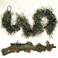 Rifle Rag Ghillie 3D Camouflage Cover Bow Wrap Yowie Sniper Airsoft Paintball