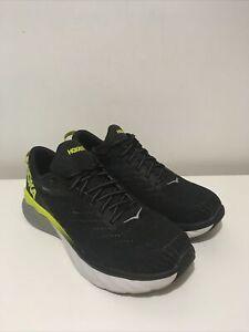 Hoka One One Mens Arahi 4 Running Shoes - UK Size 9.5 Black / Green